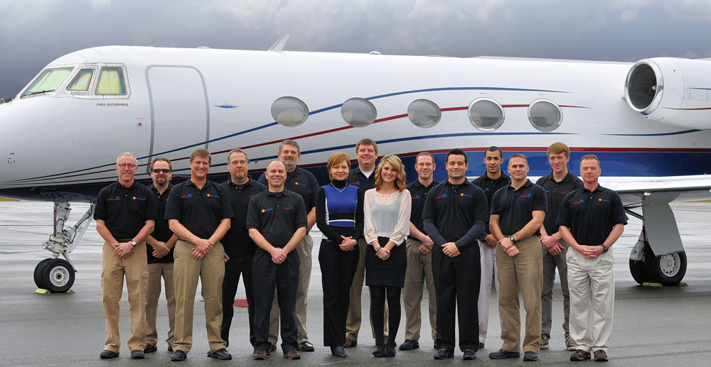 Command Aviation full-service FBO Team