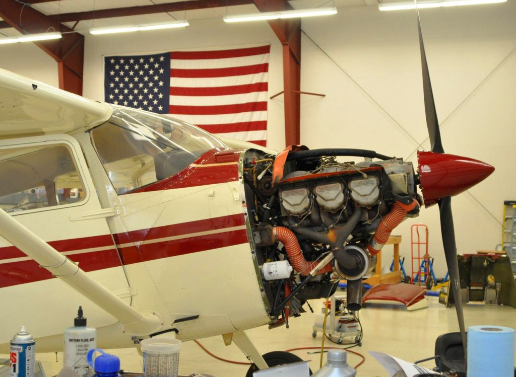 Aircraft maintenance engine repair - Cessna
