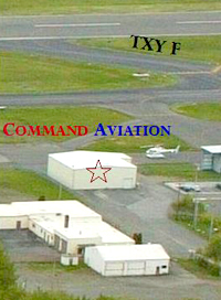 Command Aviation FBO Aerial View