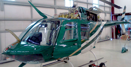 Helicopter Repair and Maintenance Services