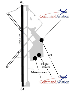 Bellingham Airport Map