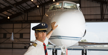 Flight training school pilot certification