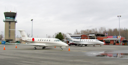 Corporate FBO services in Bellingham WA