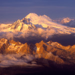 Mt Baker aerial flight tour