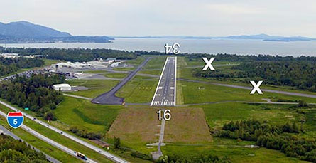 Bellingham Airport and weather
