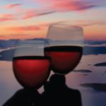 Scenic flight anniversary sunset tour