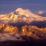 Mt Baker aerial flight tour